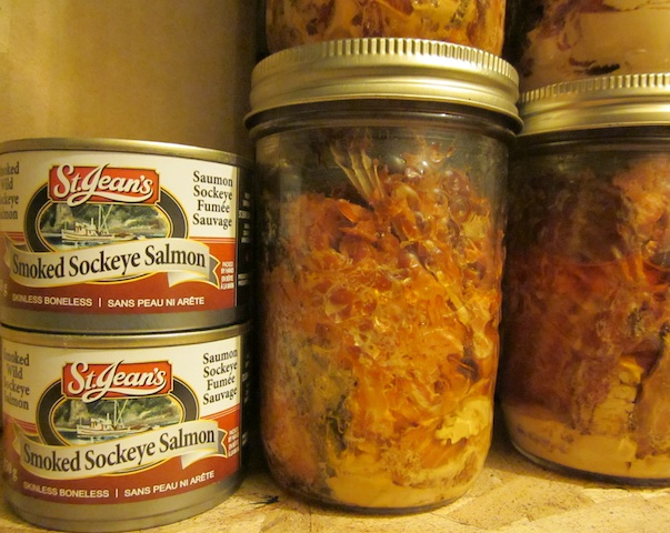 canned salmon Seasonal Foods: Smoked Sockeye Salmon