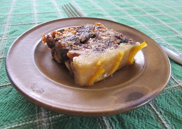 christmas fruitcake Christmas Fruitcake, Raw Cashew Marzipan with Orange Peel Glaze