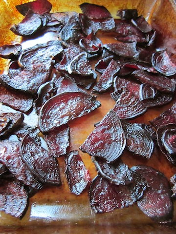 beet chips 4 Seasonal Foods: Beet Chips