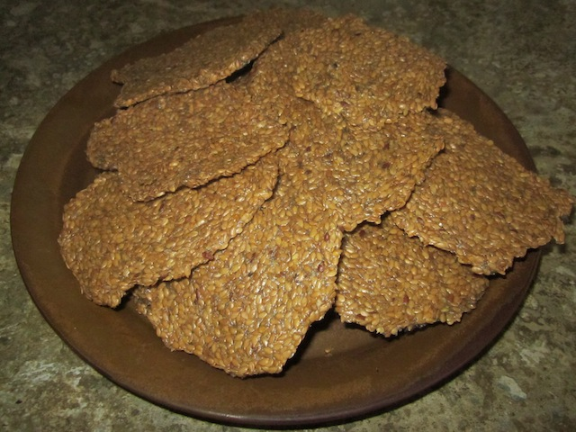 flax crackers Flax Crackers