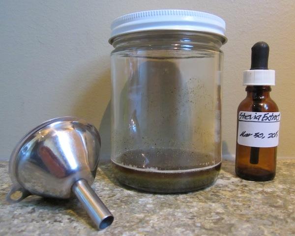 ek stevia extract Homemade Stevia Extract