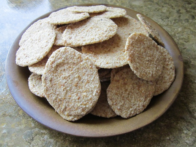 sesame crackers Sesame Flax Crackers