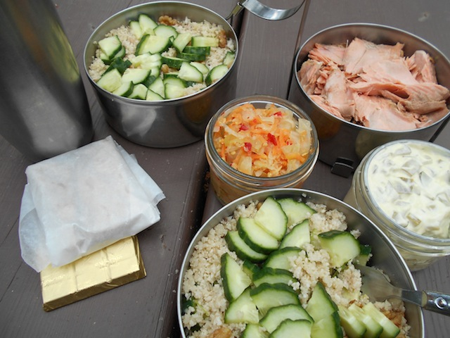 lunch kit week 3 Cauliflower Summer Salad with Crispy Walnuts